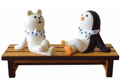 Decole 夏のまったりマスコット <だらだら(しろくま/ペンギン)>