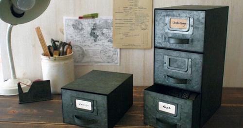DECOLE(デコレ)ブリッカ・ブラック引き出し (1段BOX/3段BOX)