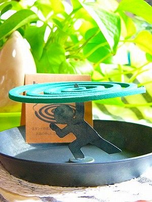 【「バランス」ラスト1点!】Decole  蚊取り線香スタンド<ガッツ/バランス>