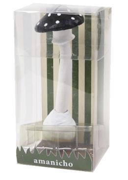 AMANICHO アマニーチョ きのこのペン Sサイズ マッシュルームデスクペン<レッド/ブラウン>キノコ