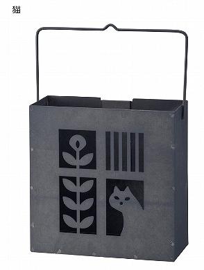 Decole  蚊遣り箱(縦型) <蚊取り線香入れ(縦型):<猫/鳥>