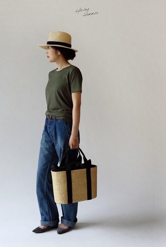 シーグラス オーバル ベルティング バッグ 【Lサイズ】