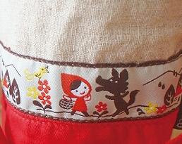 Decole otogicco 赤ずきんちゃん コップ袋&ランチ袋