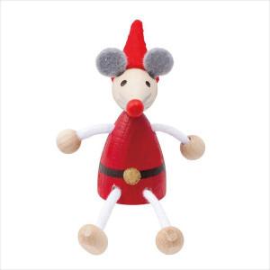 チェコ製 DETOA クリスマス レスニー<アニマル> クマ/ウサギ/ネズミ/ネコ/サル)