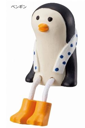 Decole 夏のまったりマスコット <ひとやすみ(しろくま/ペンギン)>