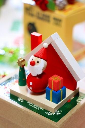チェコ製 DETOA クリスマス 手のひら人形・ハウス