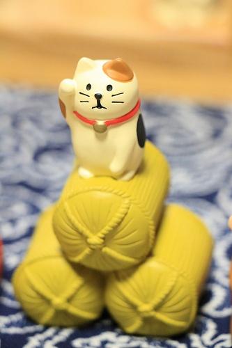 Decole 【福シリーズ】 福猫俵