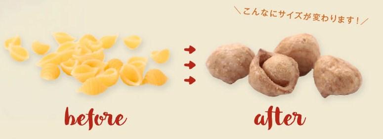 ◆ホワイトデー お返し◆ パスタでポン!【 チョコレート味 】〜シェル形パスタをポン!したサクサク楽しいキャラメルお菓子♪〜「PASTA de PON」♪