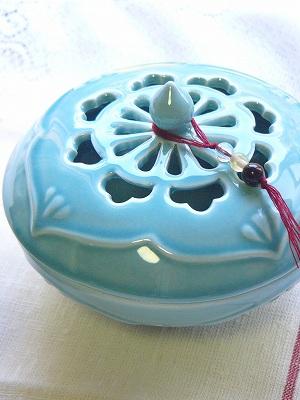陶器蚊遣り <ブルーアジア>