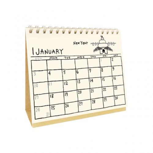 2021年イラストカレンダー 卓上タイプ/リュリュ