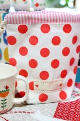 Decole aurinko コップ袋(マグポーチ) <ねこ/うさぎ/くま>