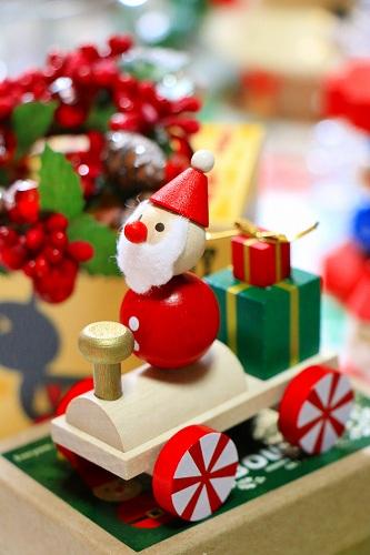 チェコ製 DETOA クリスマス 手のひら人形・トレイン