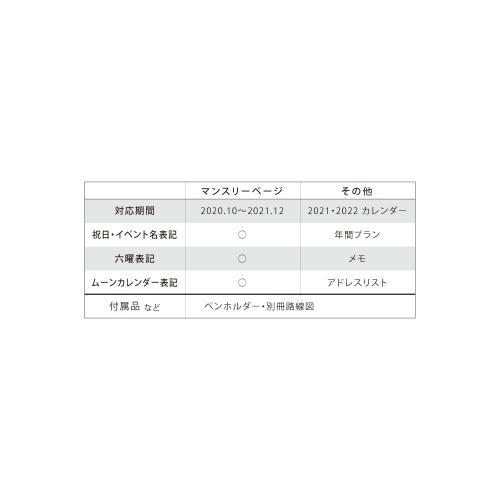 〈〈2021年 手帳〉〉  【MICAO ダイアリー/お茶会】 刺繍カバースケジュール帳<A6型 マンスリー>