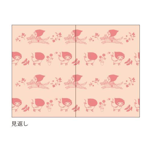 〈〈2021年 手帳〉〉  【MICAO ダイアリー/猫ずきん】 刺繍カバースケジュール帳<A6型 マンスリー>