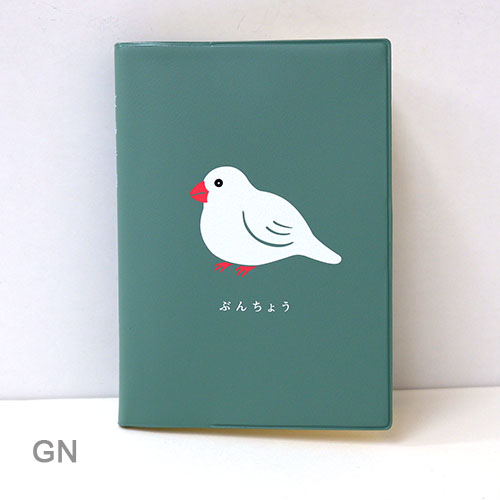 〈〈2021年 手帳〉〉  【文鳥 (A6 ブロック ウィークリー) 手帳】 <2020年10月始まり>