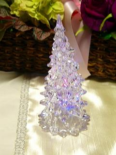 LEDライト クリアツリー(H12cm)