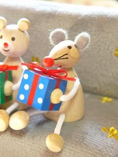 チェコ製 DETOA プレゼントレスニー【アニマル<クマ/ウサギ/ネコ/ネズミ>】