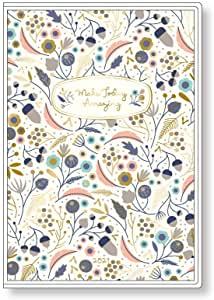 〈〈2021年 手帳〉〉  【エリザベス・オーウェン / ホワイト】 <A6型 マンスリー>