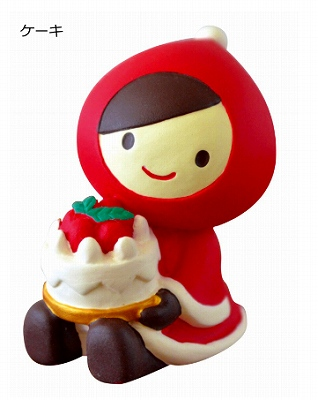 Decole 赤ずきん クリスマスマスコット ダブル<ソリ>