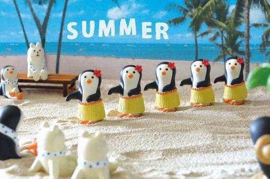 Decole 夏のまったりマスコット <フラダンス>