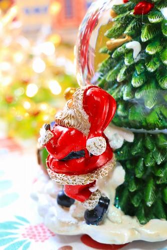 【Xmas(クリスマス)】ツリースノードーム&オルゴール