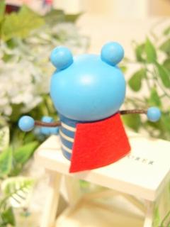 Decole GoGo mantle おすわり乳歯入れ(ティースケース/小物入れ)<うさぎ/くま>