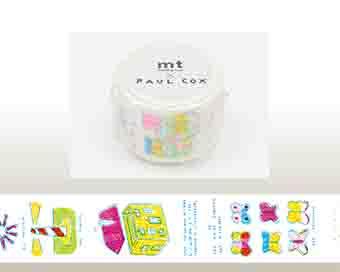 mt×artist series マスキングテープ 【Paul Cox】<2種>