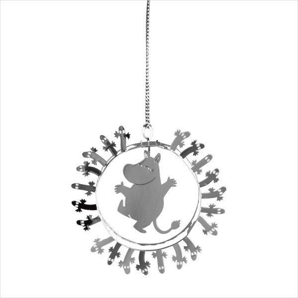 ★【キラキラゆらゆらオーナメント♪】<from スウェーデン> Pluto Produkter(プルート プロダクト) トーべ・ヤンソン【ムーミン/シルバー】☆彡