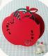 ドゥームー 蚊遣り 縦型 アニマル蚊取り線香スタンド <リンゴ>