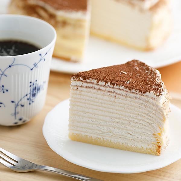 ミルクレープ カフェモカ 6個入り <送料無料>