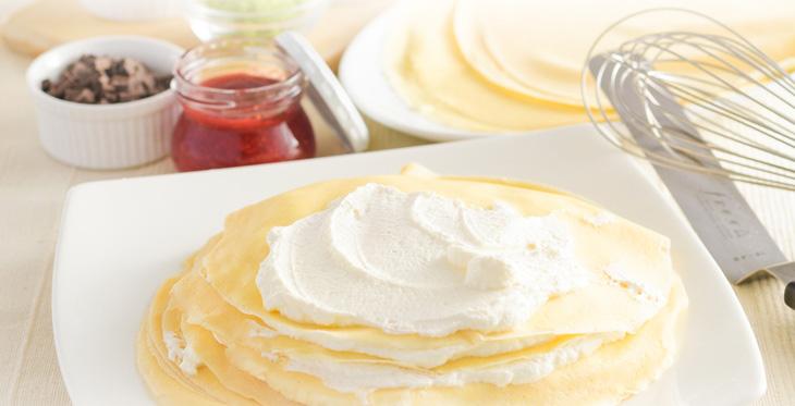 もっちり食感の手作りミルクレープ6種食べ比べセット季節(マンゴー)限定入り<送料無料>