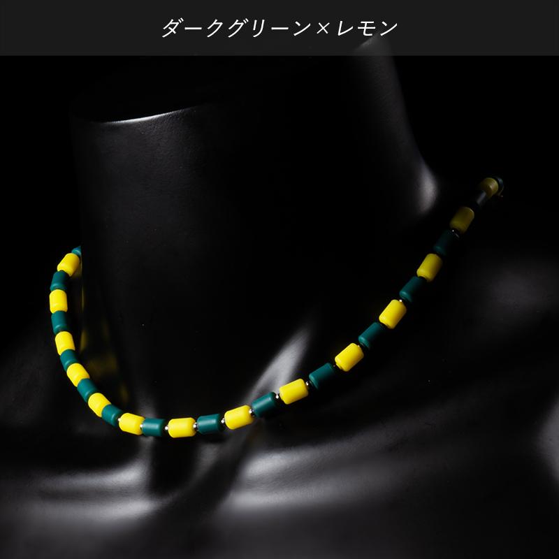 インパルスネックレス シルバー[カラー・S43cm]