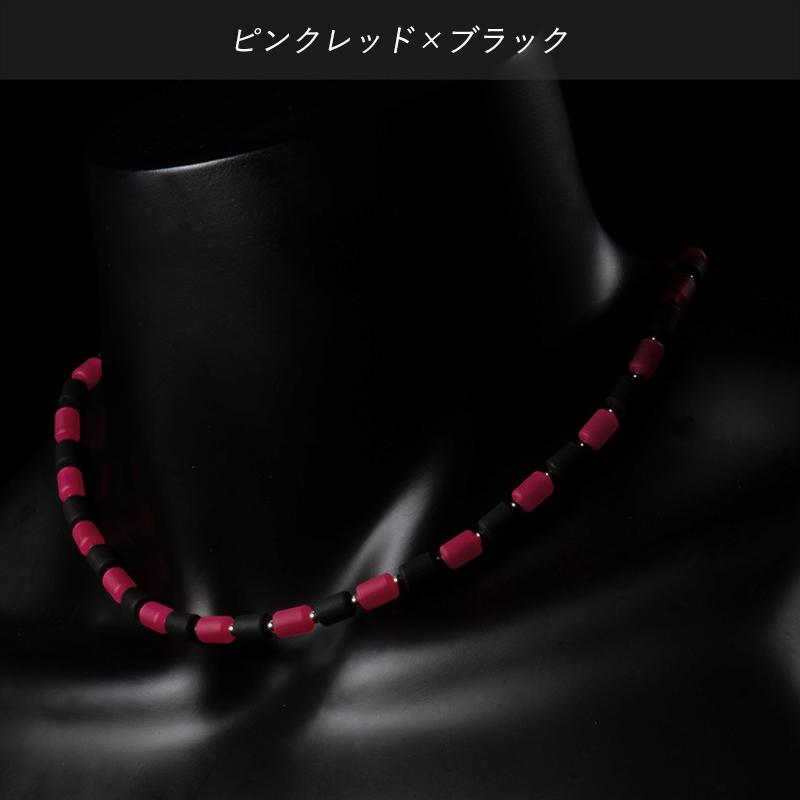 インパルスネックレス[シルバー・カラー・M50cm]