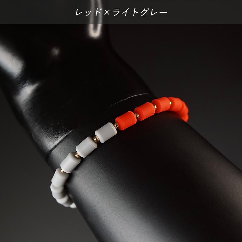 インパルスブレスレット[ゴールドフィルド・バイカラー・M19cm]