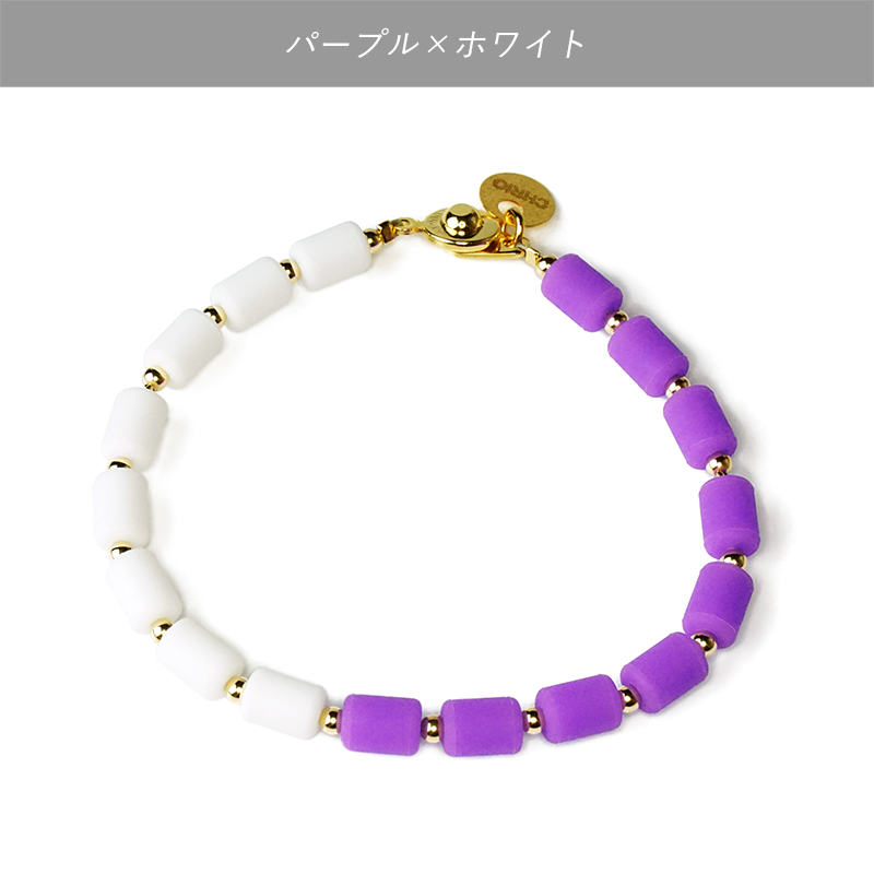 インパルスブレスレット[ゴールドフィルド・バイカラー・S17cm]