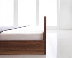 ダブル【スタンダードポケットコイルマットレス付き】家族ベッド連結ベッドシンプルフロアベッド【Grati】グラティー