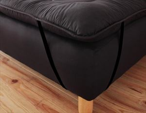 セミシングル 分割式マットレスベッド専用敷パッド 単品