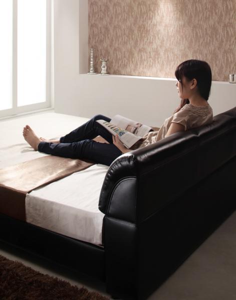シングル【ベッドフレームのみ】モダンデザインベッド 【Klein Wal】クラインヴァール