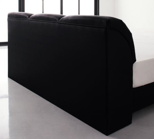 セミダブル【ベッドフレームのみ】モダンデザインベッド 【Klein Wal】クラインヴァール