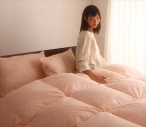シングル 【ベッドタイプ】新20色羽根布団8点セット〈3年保証〉