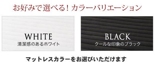 ダブル【スタンダードポケットコイルマットレス付き】棚・コンセント付 すのこベッド【Alcester】オルスター