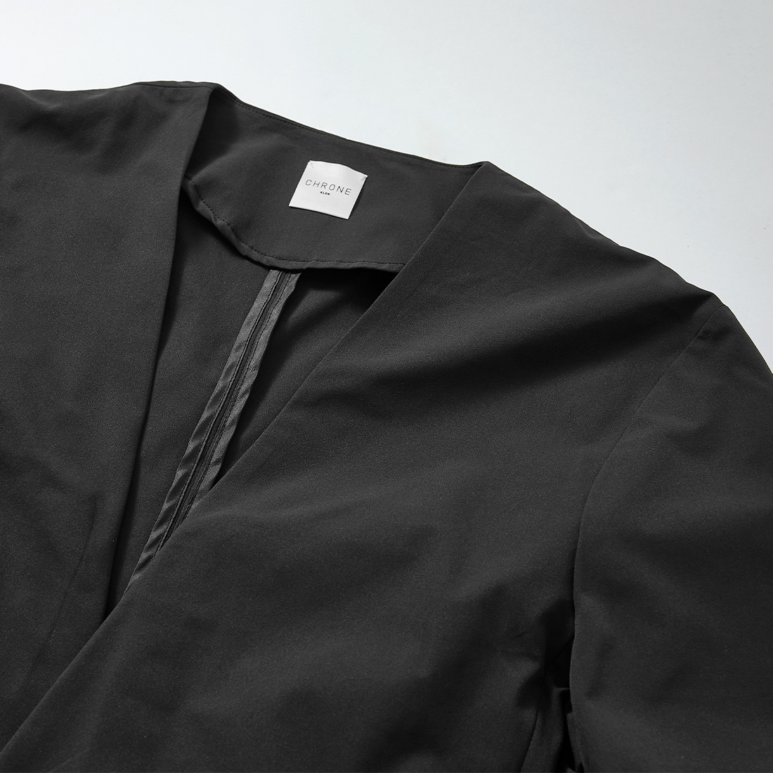 borderless no-collar jacket -male-の商品写真4