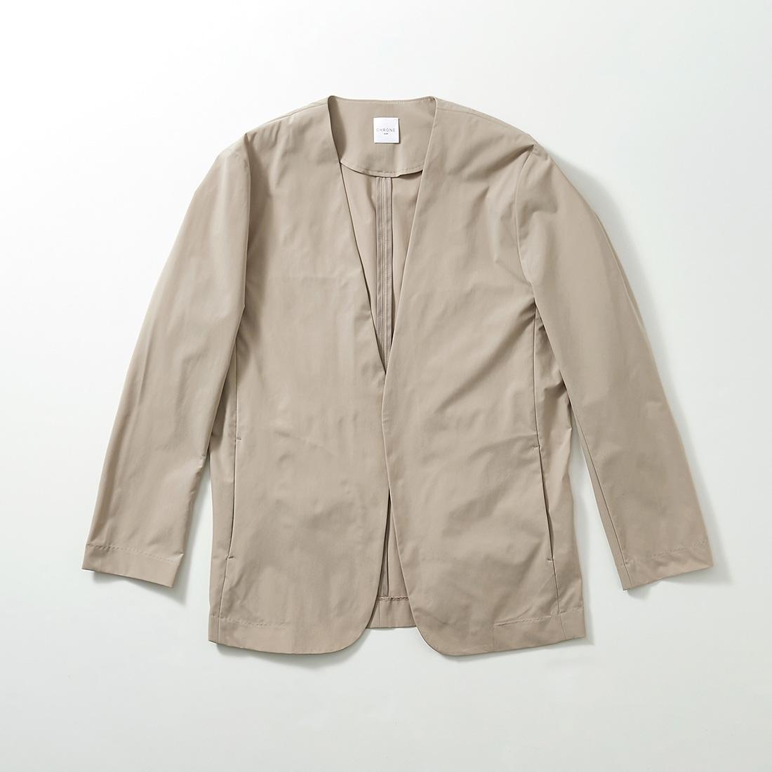 borderless no-collar jacket -male-の商品写真1