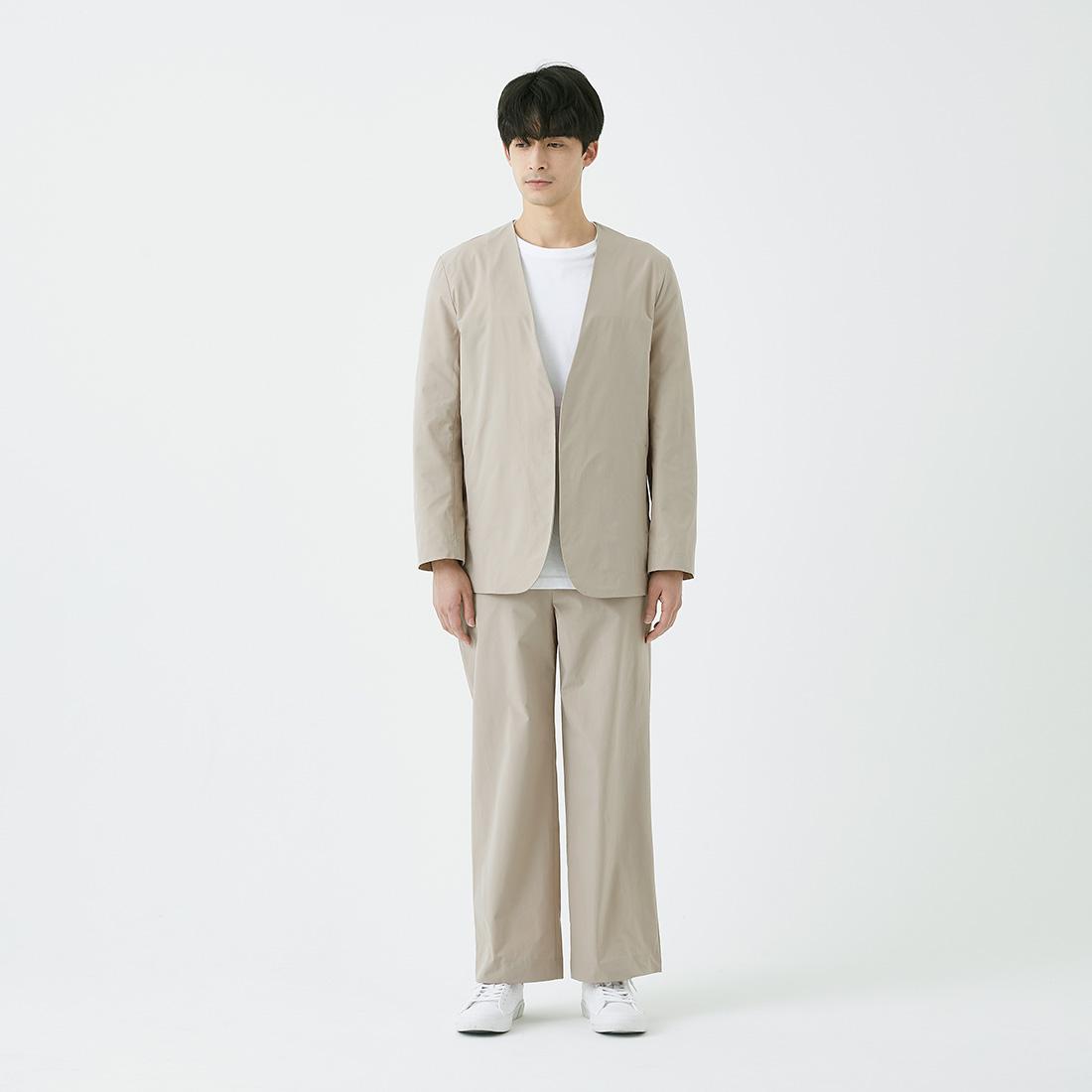 borderless no-collar jacket -male-の商品写真16