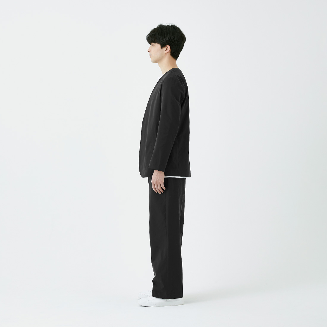 borderless no-collar jacket -male-の商品写真14