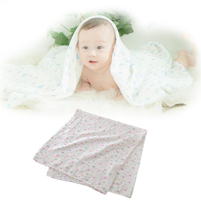 モスリンガーゼおくるみ[ベビー服][赤ちゃん][服][ベビー][おくるみ][アフガン][男の子][女の子][出産祝い][ギフト][春][夏][お昼寝]