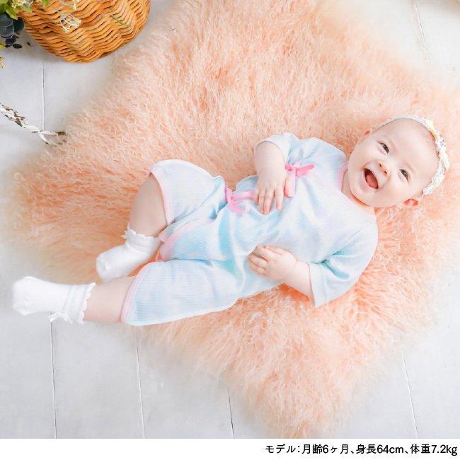 ベビー服 赤ちゃん 服 ベビー 新生児肌着 短肌着 コンビ肌着 女の子 新生児 50 60 女の子新生児肌着6枚組
