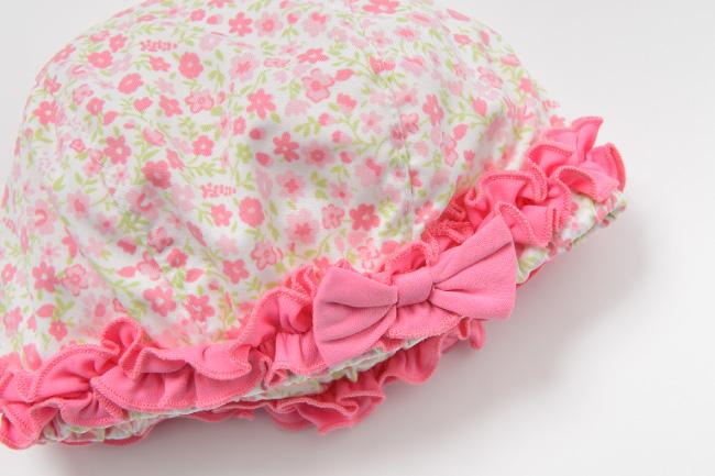 ベビー服 赤ちゃん 服 ベビー 水着 スイムキャップ 小花柄 女の子 80 90 95 水遊び 帽子 小花柄スイムキャップ