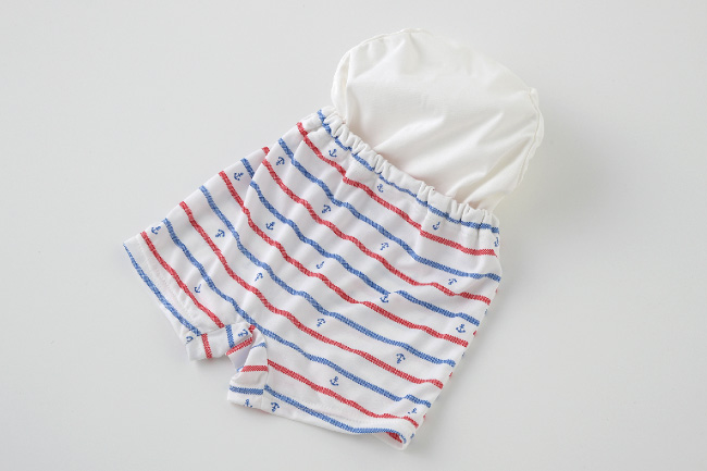ベビー服 赤ちゃん 服 ベビー 水着 スイムパンツ ボーダー 男の子 80 90 95 水遊び パンツ ボーダートランクススイムパンツ
