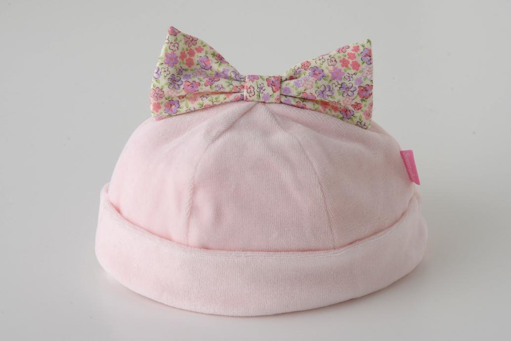 スウィートガールリボン付き帽子